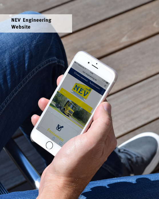 NEV_Engineering_website iphone Ansicht